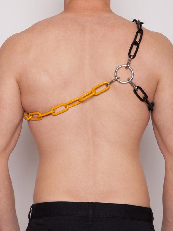 bondage-harness-TQ42-black-yellow